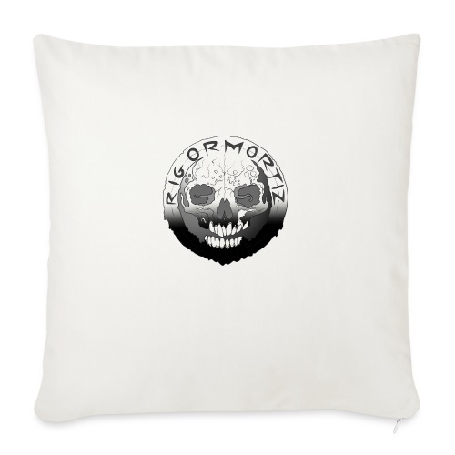 Rigormortiz Black White Design - Sofa pillow with filling 45cm x 45cm