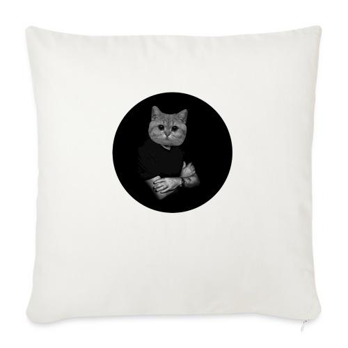 Starecat Co ja pacze - Poduszka na kanapę z wkładem 44 x 44 cm