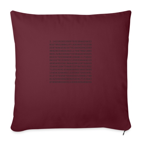 PI - Sofa pillow with filling 45cm x 45cm