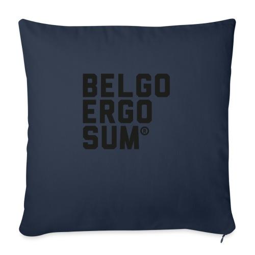Belgo Ergo Sum - Sofa pillow with filling 45cm x 45cm