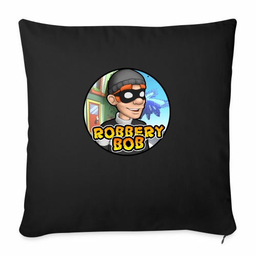 Robbery Bob Button - Sofa pillow with filling 45cm x 45cm