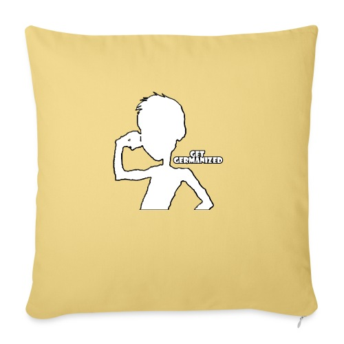 Get Germanized Silhouette - Sofa pillow with filling 45cm x 45cm