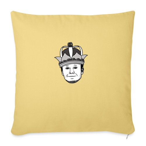 Meisterlehnsterr-Head - Sofa pillow with filling 45cm x 45cm
