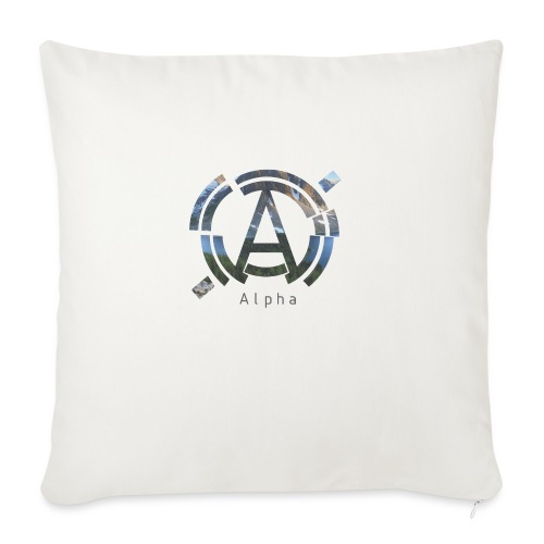 AlphaOfficial Logo T-Shirt - Sofa pillow with filling 45cm x 45cm