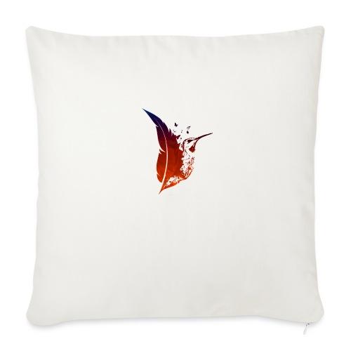 Colibri flamboyant - Coussin et housse de 45 x 45 cm