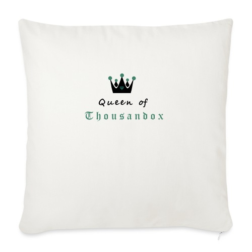 Queenofthousandox - Sofakissen mit Füllung 44 x 44 cm