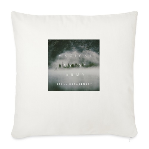 MAGICAL GYPSY ARMY SPELL - Sofa pillow with filling 45cm x 45cm
