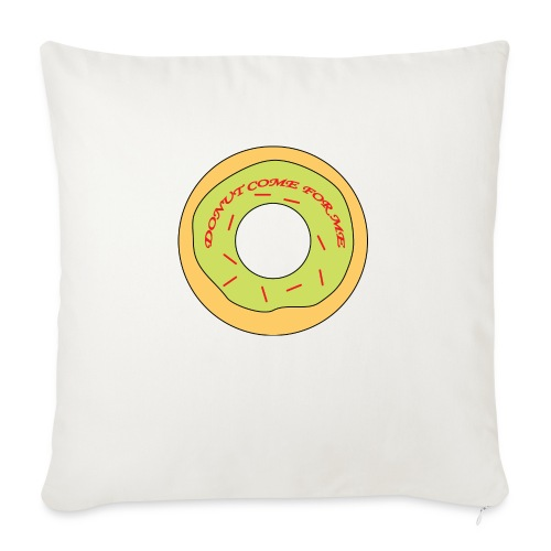Donut Come For Me Red - Sofa pillow with filling 45cm x 45cm