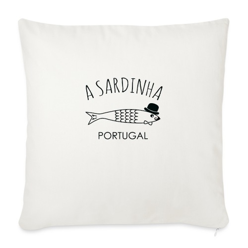A Sardinha - Portugal - Coussin et housse de 45 x 45 cm