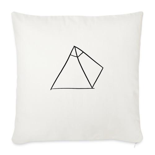 Tasse Blanche/Noir - Logo Noir P Y R A - Coussin et housse de 45 x 45 cm