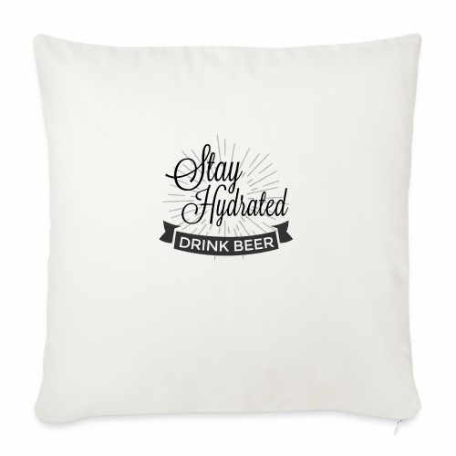 Stay Hydrated - Sofa pillow with filling 45cm x 45cm