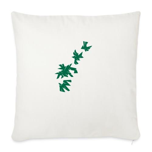 Green Leaves - Sofakissen mit Füllung 44 x 44 cm