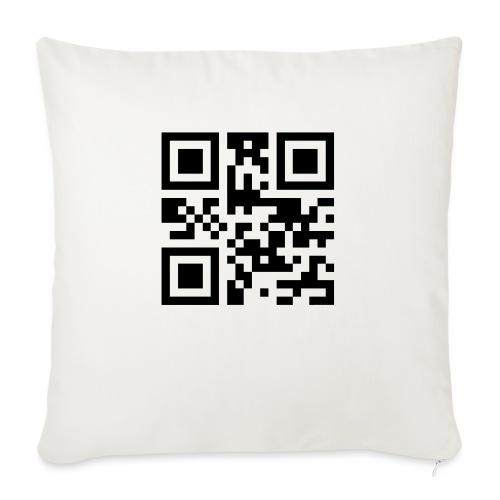 Sono Single QR Code - Cuscino da divano 44 x 44 cm con riempimento