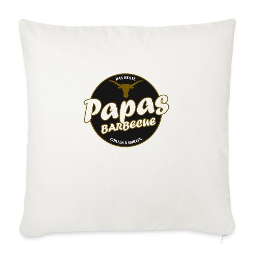 Papas Barbecue ist das Beste (Premium Shirt) - Sofakissen mit Füllung 44 x 44 cm