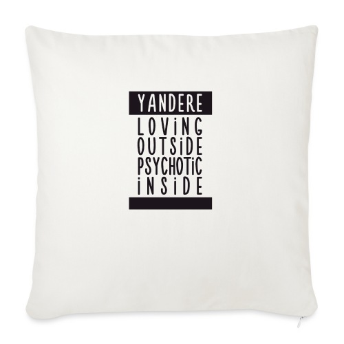 Yandere manga - Sofa pillow with filling 45cm x 45cm