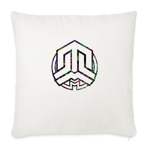 Cookie logo colors - Sofa pillow with filling 45cm x 45cm