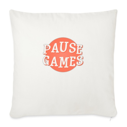 Pause Games Logo - Sofa pillow with filling 45cm x 45cm