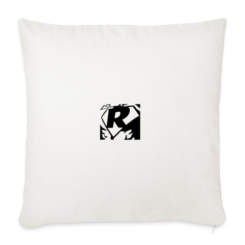 Black R2 - Sofa pillow with filling 45cm x 45cm