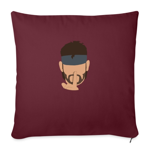 Solid Snake Simplistic - Sofa pillow with filling 45cm x 45cm