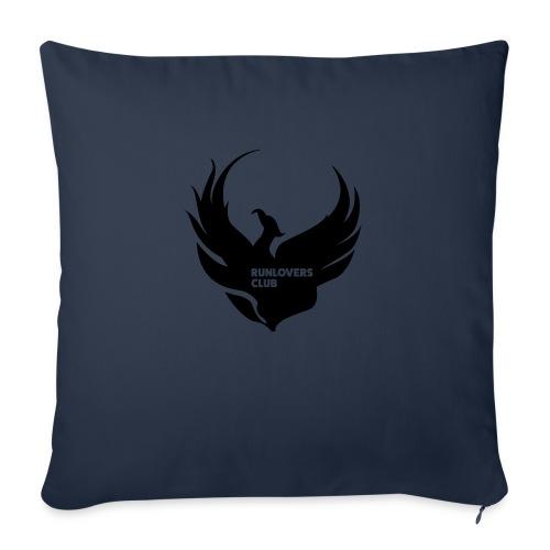 Runlovers Club v2 - Cuscino da divano 44 x 44 cm con riempimento