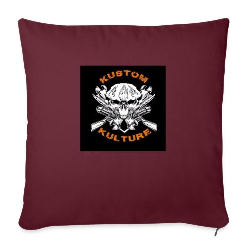 Triple Skull - Coussin et housse de 45 x 45 cm