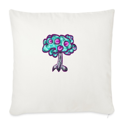 Neon Tree - Sofa pillow with filling 45cm x 45cm