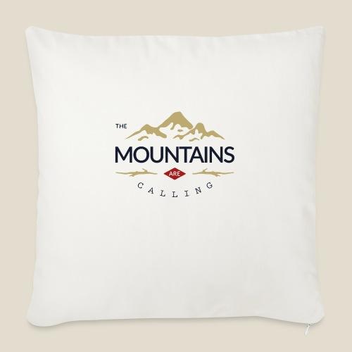 Outdoor mountain - Coussin et housse de 45 x 45 cm
