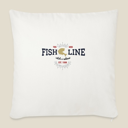 Outdoor fish - Coussin et housse de 45 x 45 cm