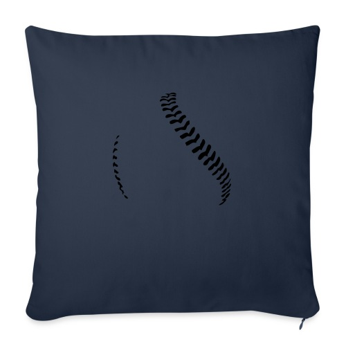 Baseball - Sofa pillow with filling 45cm x 45cm