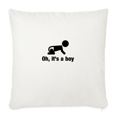 Baby Boy - Sofakissen mit Füllung 44 x 44 cm