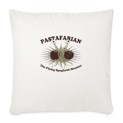The Flying Spaghetti Monster - Sofa pillow with filling 45cm x 45cm