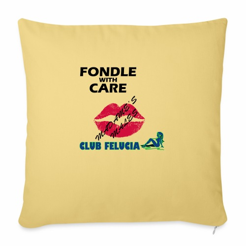 FWC_males - Sofa pillow with filling 45cm x 45cm