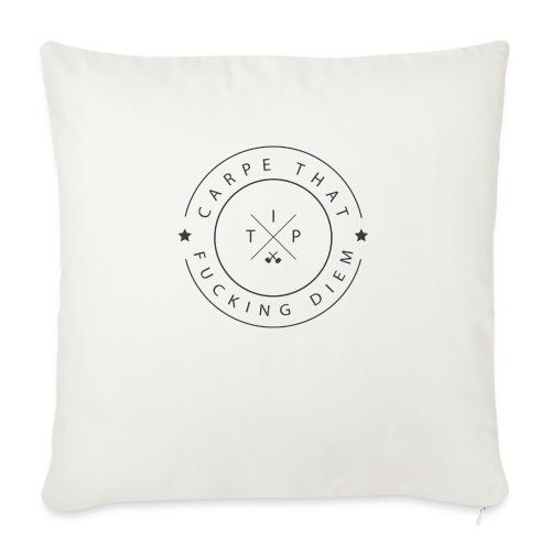Carpe that f*cking diem - Sofa pillow with filling 45cm x 45cm
