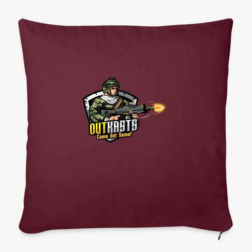 OutKasts [OKT] Logo 2 - Sofa pillow with filling 45cm x 45cm