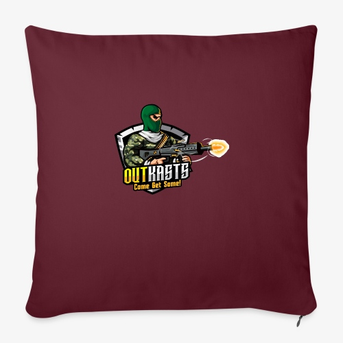 OutKasts [OKT] Logo 1 - Sofa pillow with filling 45cm x 45cm