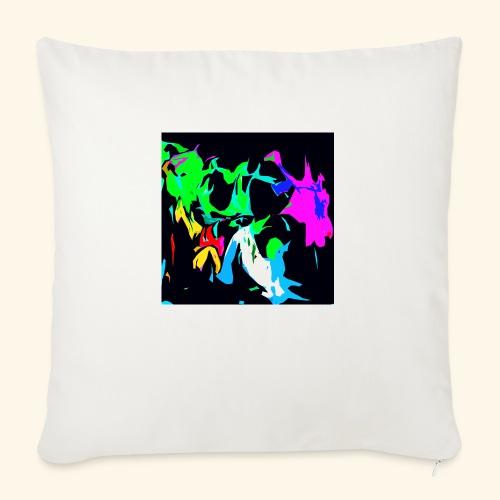 Ragnatele colorate - Cuscino da divano 44 x 44 cm con riempimento