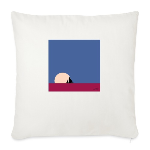Oh my boat! - Sofa pillow with filling 45cm x 45cm