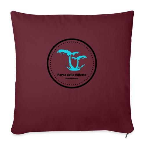 LOGO PARCO DELLE VILLETTE - Cuscino da divano 44 x 44 cm con riempimento