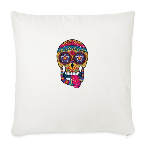 Mexican Skull - Cuscino da divano 44 x 44 cm con riempimento