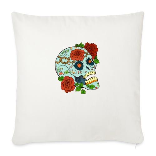 Mexican Skull 5 - Cuscino da divano 44 x 44 cm con riempimento