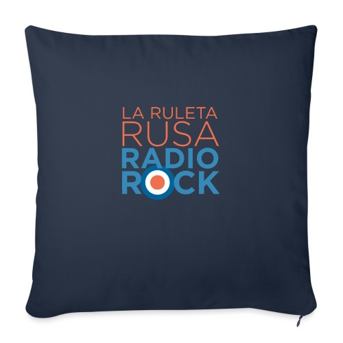 La Ruleta Rusa Radio Rock. Portrait Primary. - Cojín de sofá con relleno 44 x 44 cm