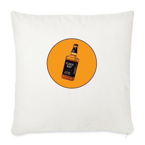 Logo Flash Rap - Coussin et housse de 45 x 45 cm