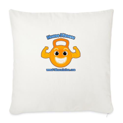 Logo 01Musculation Home Fitness Kettlebell - Coussin et housse de 45 x 45 cm