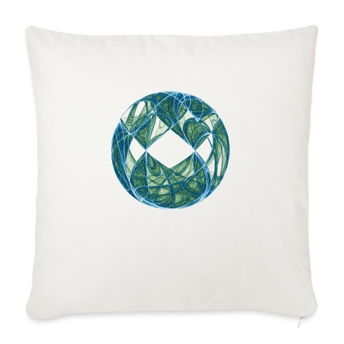 Harmony in the Ocean of Elements 446oce - Sofa pillow with filling 45cm x 45cm