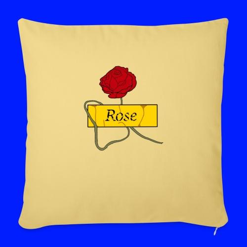 Rose - Soffkudde med stoppning 44 x 44 cm