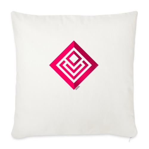 Cabal (with label) - Sofa pillow with filling 45cm x 45cm