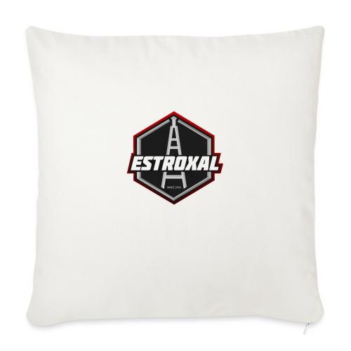 Estroxal - Logo - Sohvatyynyt täytteellä 44 x 44 cm