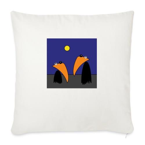 Raving Ravens - Halloween - Coussin et housse de 45 x 45 cm