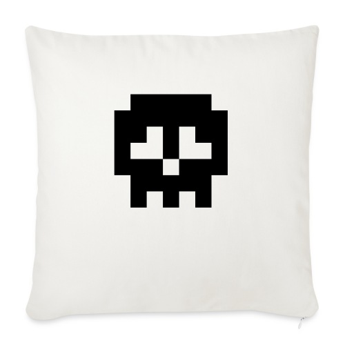 Retro Gaming Skull - Sofa pillow with filling 45cm x 45cm