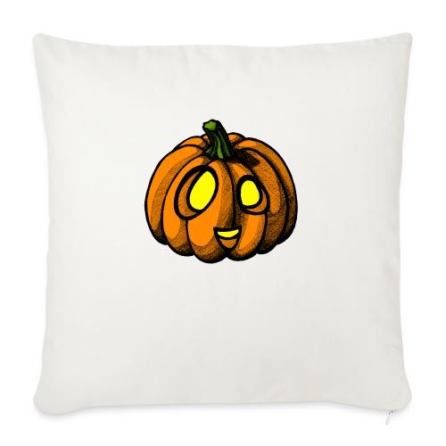 Pumpkin Halloween scribblesirii - Sofa pillow with filling 45cm x 45cm